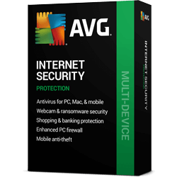 Антивирус AVG Internet Security Unlimited, 1-Year