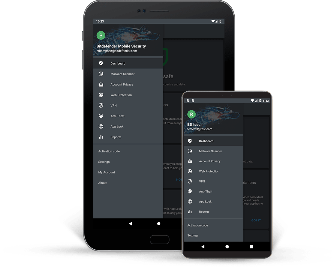 Антивирус Bitdefender Mobile Security for Android 1 years 1 device