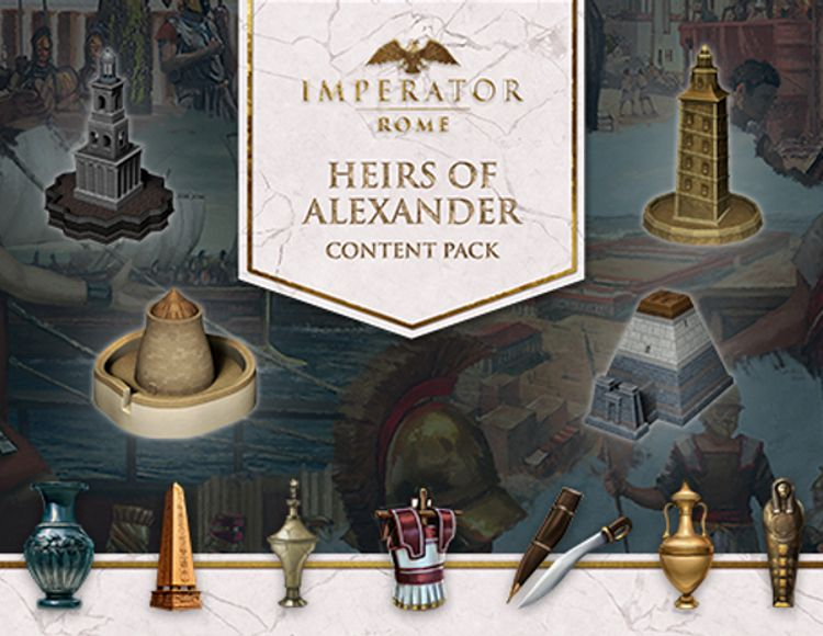Игра Imperator: Rome - Heirs of Alexander Content Pack
