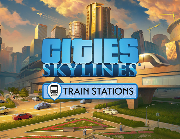 Игра Cities: Skylines - Content Creator Pack: Train Stations
