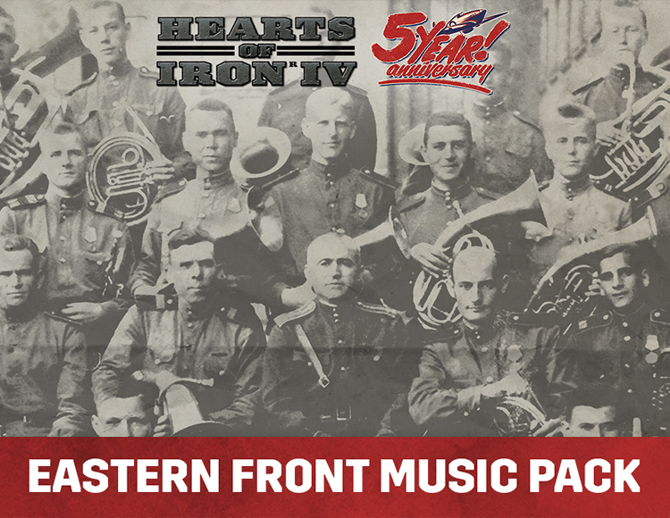 Игра Hearts of Iron IV - Eastern Front Music Pack