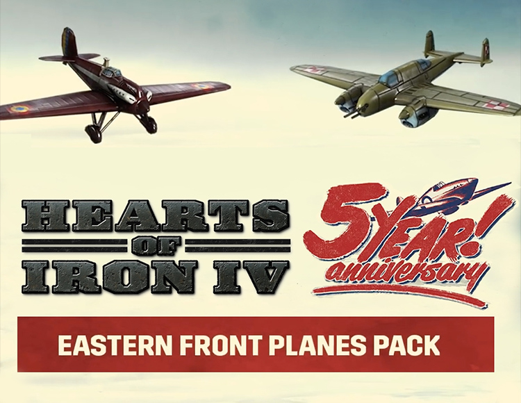 Игра Hearts of Iron IV - Eastern Front Planes Pack