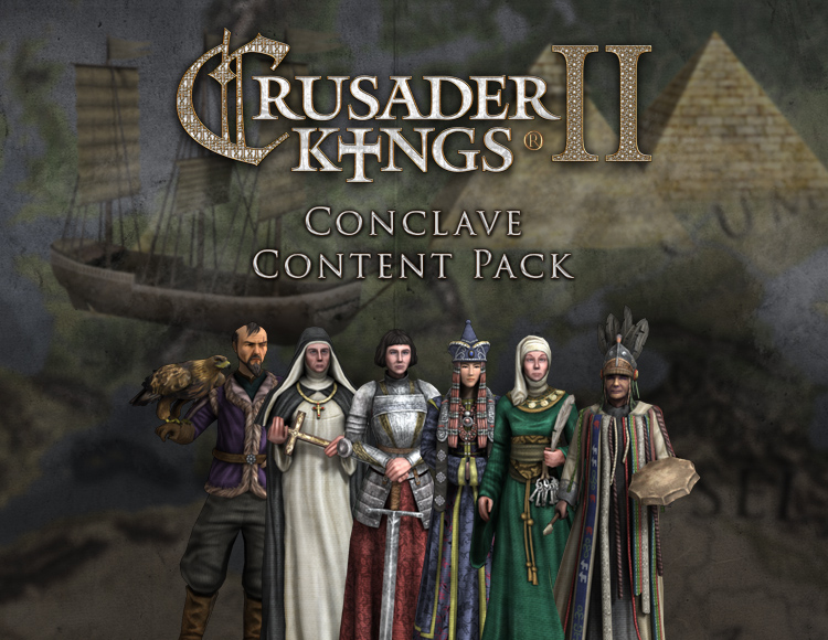 Игра Crusader Kings II: Conclave -Content Pack