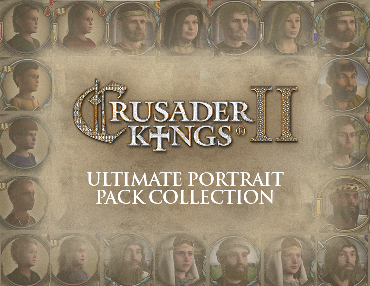 Игра Crusader Kings II: Ultimate Portrait Pack Collection