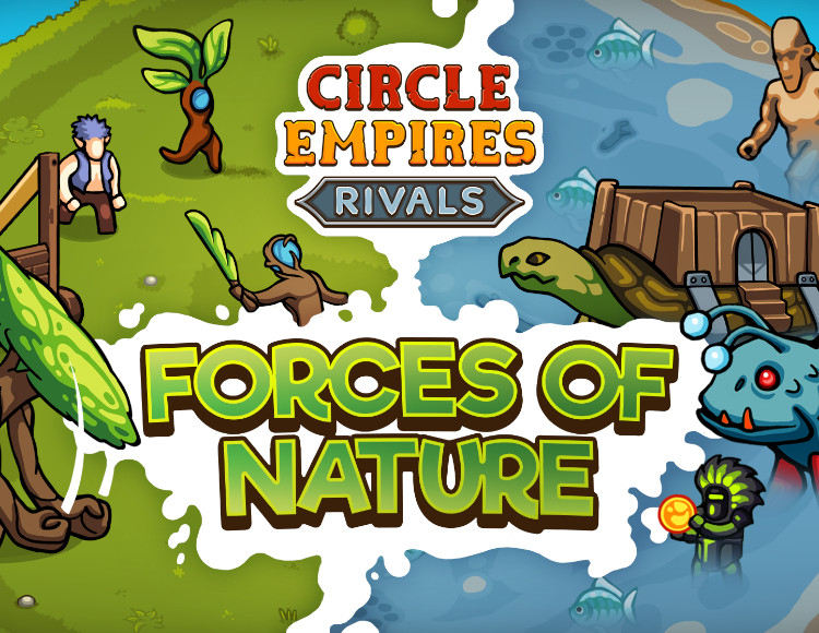 Игра Circle Empires Rivals: Forces of Nature