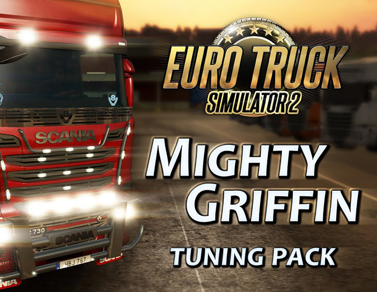 Игра Euro Truck Simulator 2 – Mighty Griffin Tuning Pack