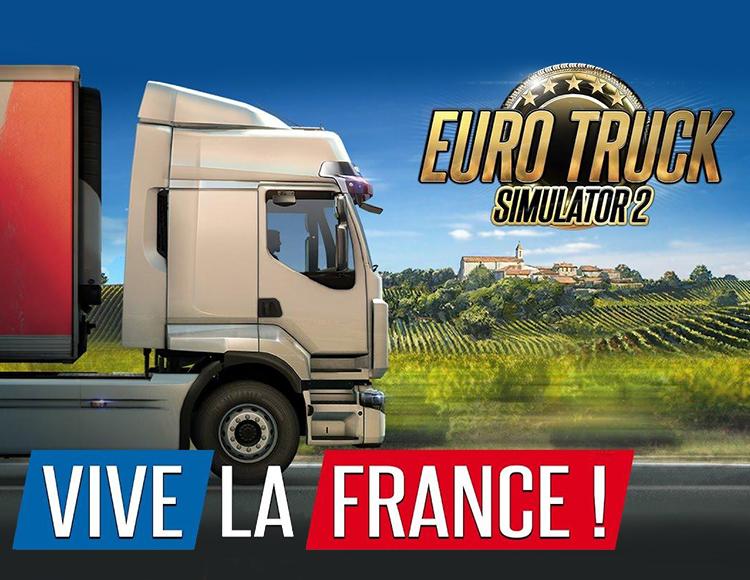 Игра Euro Truck Simulator 2 – Vive la France!