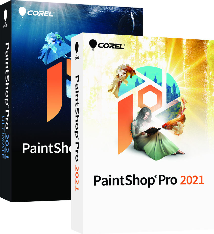 Графический редактор PaintShop Pro 2021