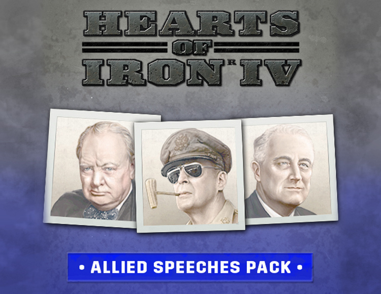 Игра Hearts of Iron IV Allied Speeches Pack