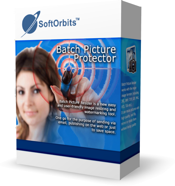 Графический редактор Batch Picture Protector Personal